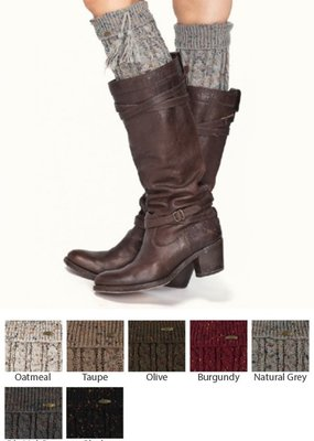 CC Tassled Boot Cuff