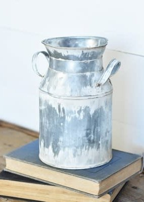 "8"" Tin Milk Can"