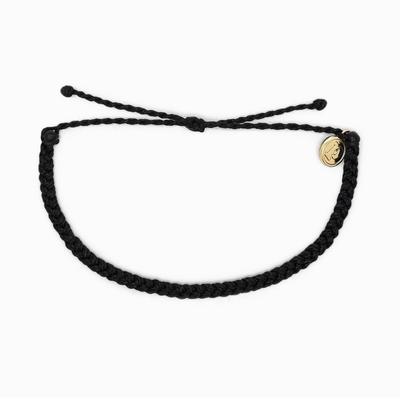 Mini Braided Bracelet - Black