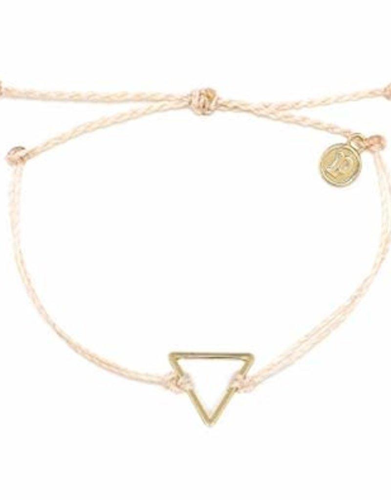 Gold Triangle Bracelet