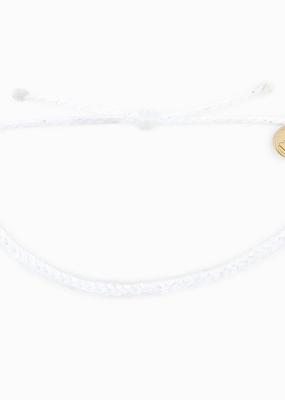 Mini Braided Bracelet - White