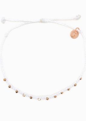 Rose Gold Beaded Ankle Bracelet