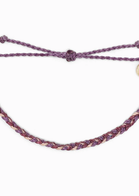 Mini  Braided Bracelet - Purple Peak