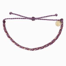 Mini  Braided Bracelet - Purple Peak