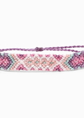 Purple Macrame Friendship Bracelet