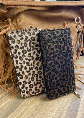Leopard Clutch Wallet
