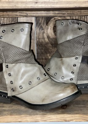 Taupe Slouchy Buckle Boot (10 only)