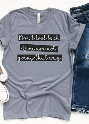 LTB Don't Look Back Graphic Tee (S-3XL)