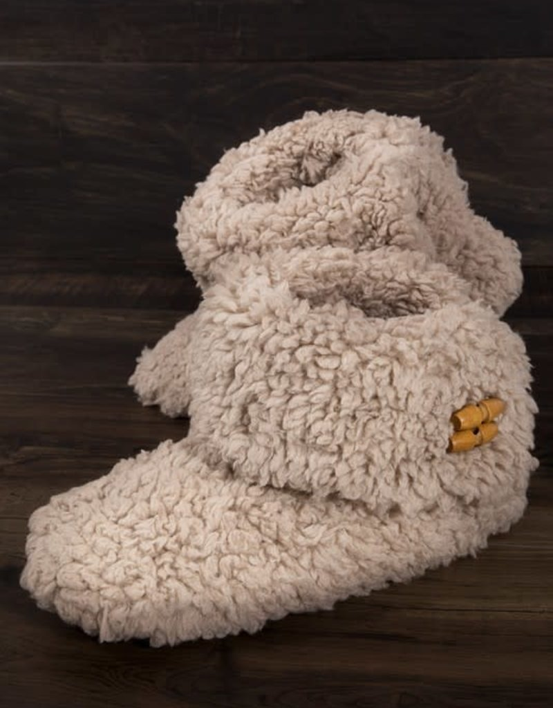 LTB Brown Teddy Bear Slippers