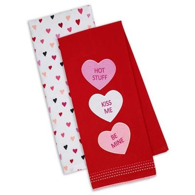 FAIRE Valentine's Kitchen Towel Set