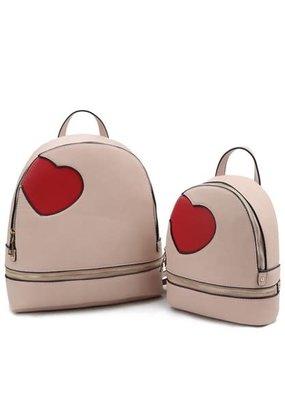 Blush Mommy & Me Backpack