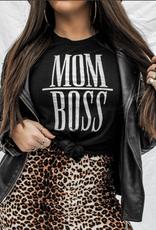 Pebby Forevee Mom Boss Tee - Pebby Forevee