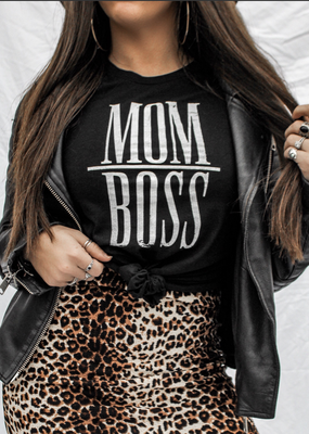 Pebby Forevee Mom Boss Tee - Pebby Forevee (XL and 2XL only)