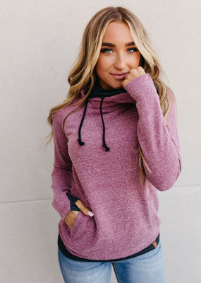 AMPERSAND AVE Blended Berry Double Hood - Ampersand Ave