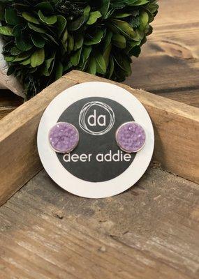 Deer Addie Deer Addie Lilac Druzy (silver back) 11