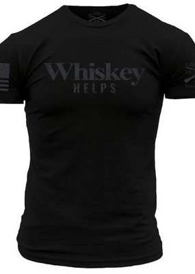 Grunt Style Grunt Style Whiskey Helps Tee (S, XL)