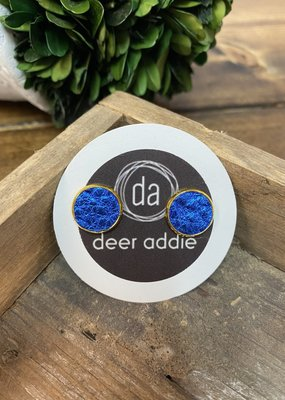 Deer Addie Deer Addie Royal Blue Leather Stud 15
