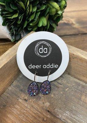 Deer Addie Deer Addie Purple Blue Druzy Clip 18