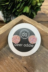 Deer Addie Deer Addie Blush Pink Druzy 25