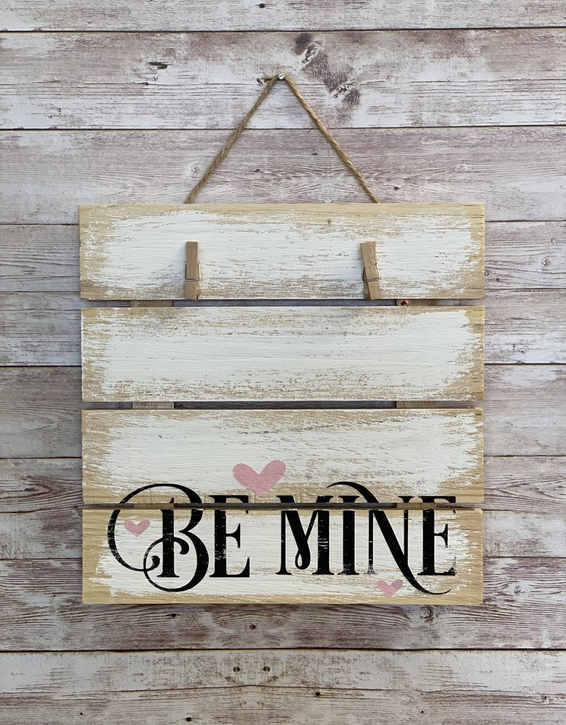 Be Mine Wall Photo Hanger