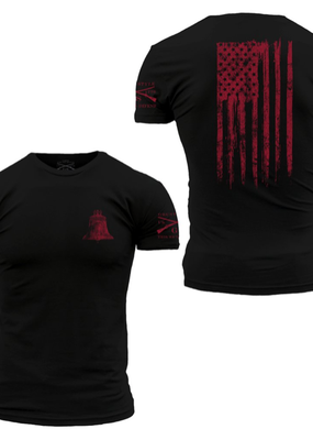 Grunt Style Grunt Style Ink Of Liberty Mens Tee (S, L, 3XL)