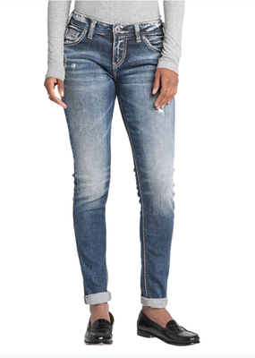 SILVER JEANS Girlfriend Silver Jeans