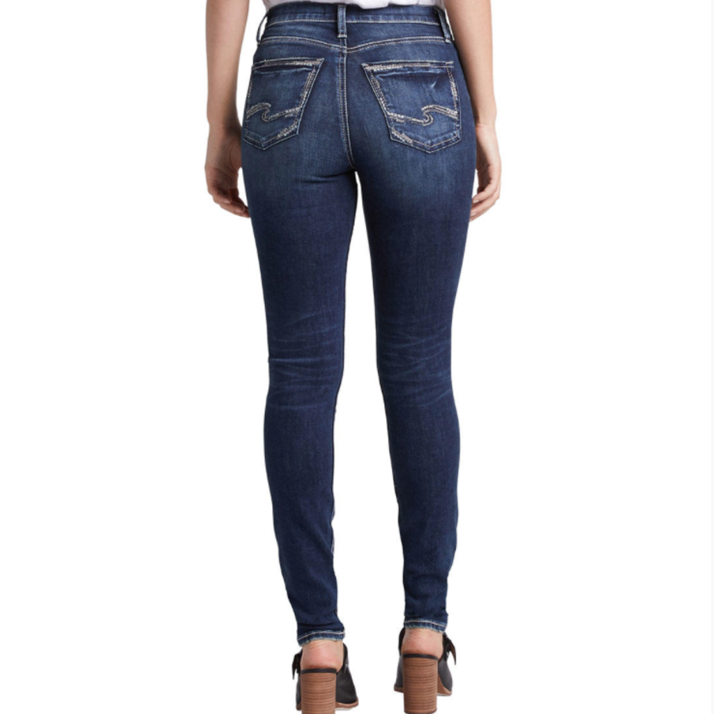 SILVER JEANS Calley Skinny Silver Jeans