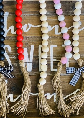 Wine & Sparkle Wooden Garlands