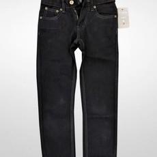 Toby Kids Boys Slim Straight Black Jeans