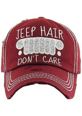 Your Fashion Wholesale Jeep Hair Don't Care Vintage Hat