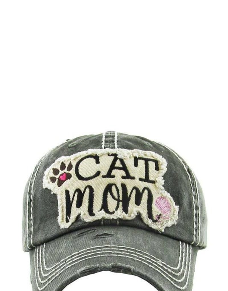 Applejucie Cat Mom Vintage Hat