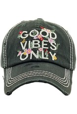 Your Fashion Wholesale Good Vibes Only Vintage Hat