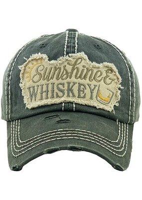 Your Fashion Wholesale Sunshine & Whiskey Patch Hat