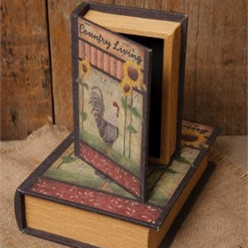 Audrey's Book Box - Country Living Rooster