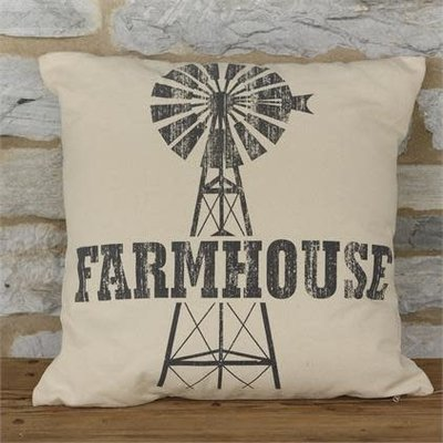 Audrey's Farmhouse Throw Pillow