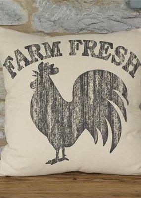Audrey's Farm Fresh Rooster Pillow
