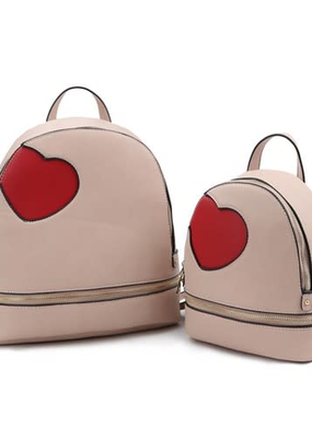 LTB Blush Heart Back Pack (2 Sizes)