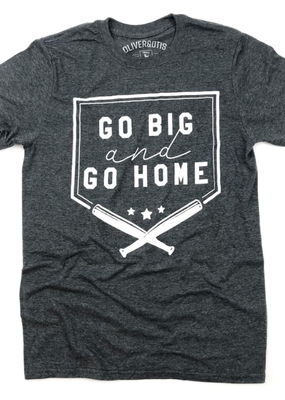 TTT Go Big & Go Home Gray Tee (S-2XL)