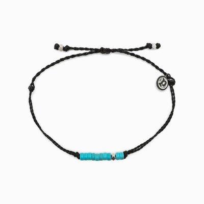 Black Heshi Bead Bracelet