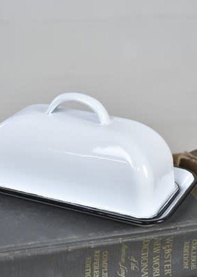 Pd Home & Garden Enamelware Butter Dish