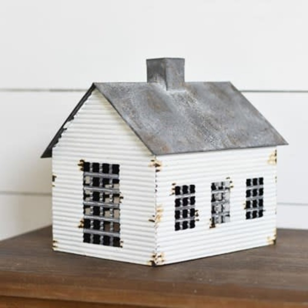 Pd Home & Garden Vintage Tin Farmhouse Cabin