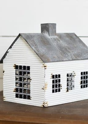Pd Home & Garden Vintge Tin Cabin