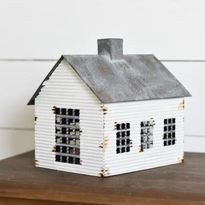 Pd Home & Garden Vintage Tin Farmhouse Cabin