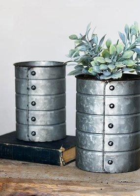 Pd Home & Garden Rivet Tin Can