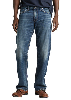 SILVER JEANS Mens Silver Zac - Relaxed Fit