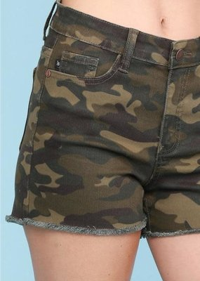 Judy Blue Judy Blue Camo Cut Off Shorts