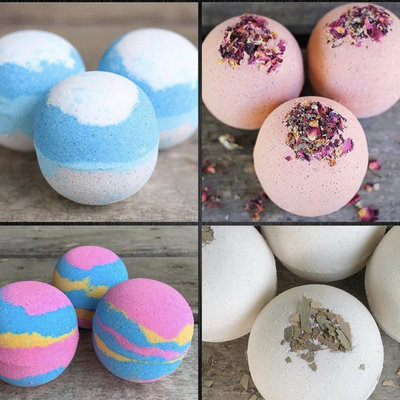 Salted Rock Bath Co Salted Rock Bath Co. Bath Bombs