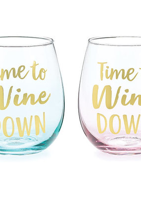 Burton and Burton Wine Down Time Glass