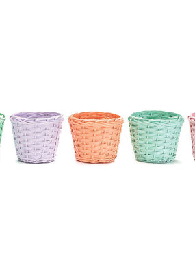 "Burton and Burton 6"" Easter Colored Pot Covers"