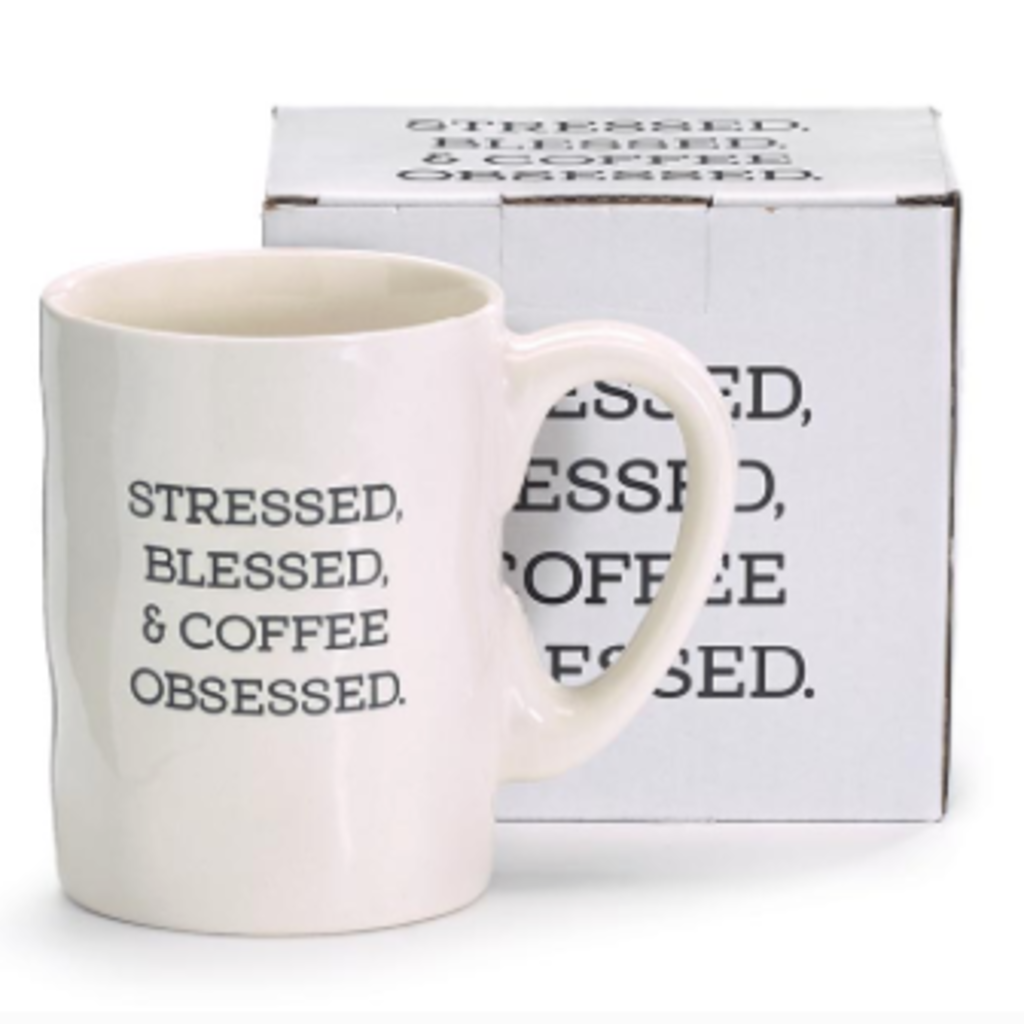 Burton and Burton Coffee Obsessed Mug